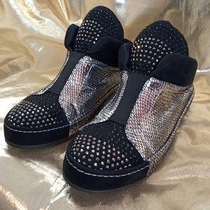 ITALINA Studed Fashion Sneakers Sz 7.5